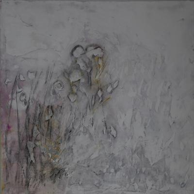 Lovers dancing by Kelvin Burr, Painting, Lime, Ash and Pigment